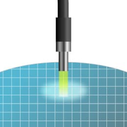 半導体検査設備における高出力光の伝送