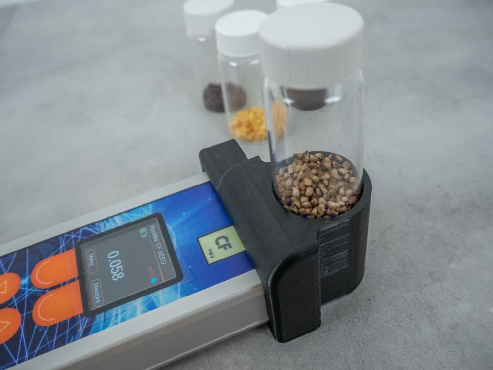 光学クロロフィル蛍光センサ CF 種子測定モデル