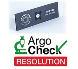 蛍光システム用スライド ARGO-Check Resolution