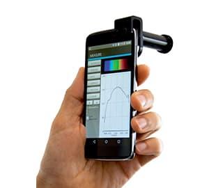 スマートフォン対応 超小型分光計 GoSpectro