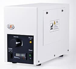 蛍光顕微鏡用小型高輝度LED照明  LQ-LED180