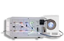 8チャンネル高輝度広域LED光源 LQ-LED 8Channel