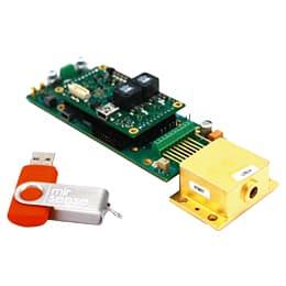 PCB基板ドライバー付き パルス量子カスケードレーザー(QCL) <br> PowerMir-OEM (POEM)