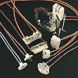 ハロゲンランプ・メタルハライドランプ用ソケット