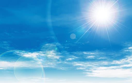 可視分光器用途例_太陽光